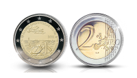 Åland Autonomy 100 Years special two euro coin, proof