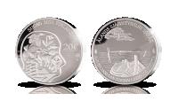 Jubileumsmynt i silver firar Ålands självstyre
