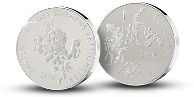 Commemorative coin: Mannerheim League for Child Welfare 100 years