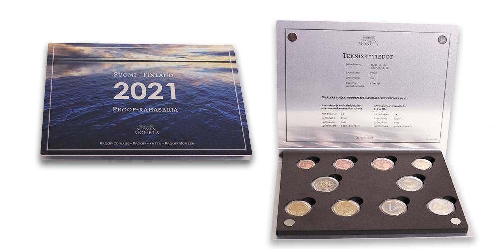 Finnish Proof coin set 2021