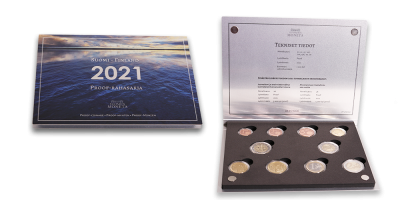 Proof coin set 2021