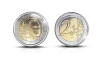 Väinö Linna 100 vuotta special two euro coin