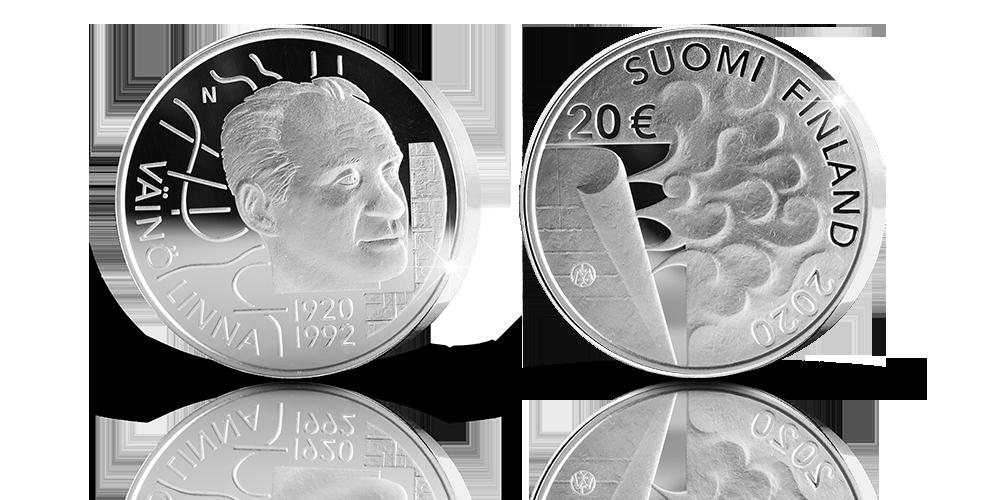Väinö Linna commemorative coin