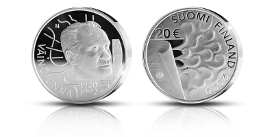 Väinö Linna 100 years commemorative coin